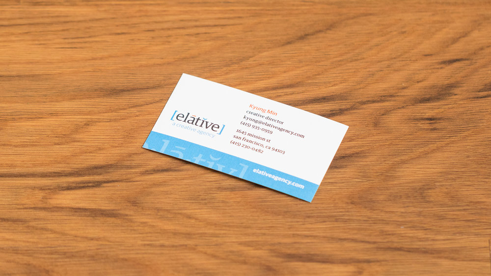 Print – Business Card – Front