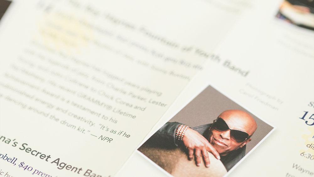 Print – Festival Mailer – Poster Side (Roy Haynes Close-Up)