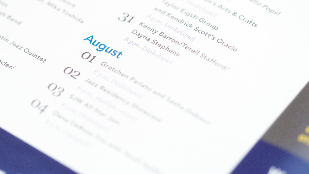Print – Festival Mailer – Panels Side (Calendar Close-Up)