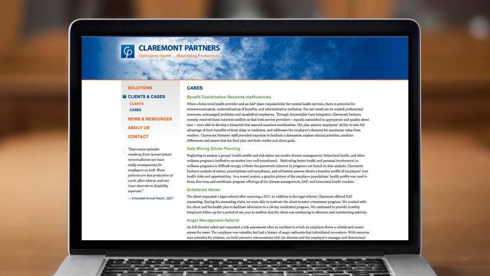 Web – Clients & Cases
