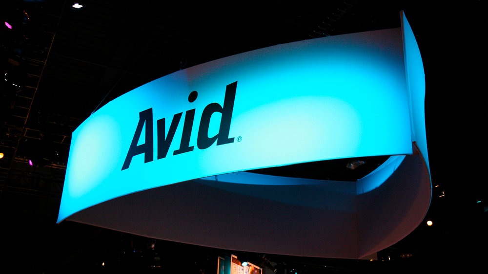 Trade Show – Main Signage (of Parent Company Avid)