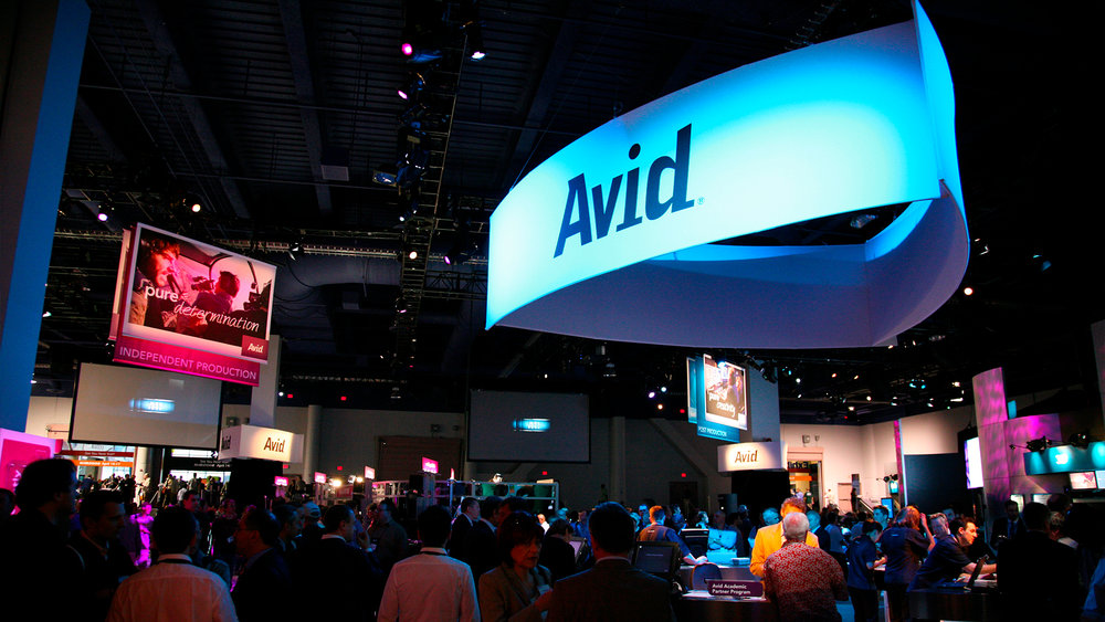 Trade Show – Full Booth (of Parent Company Avid)