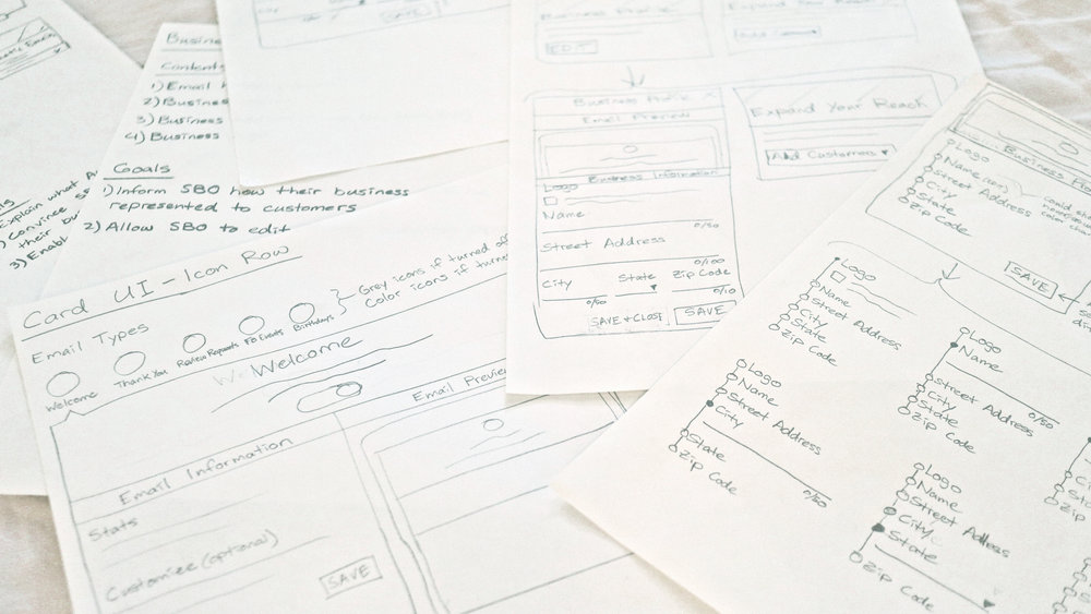 SaaS Redesign - UX Research & Designing a Marketing Product