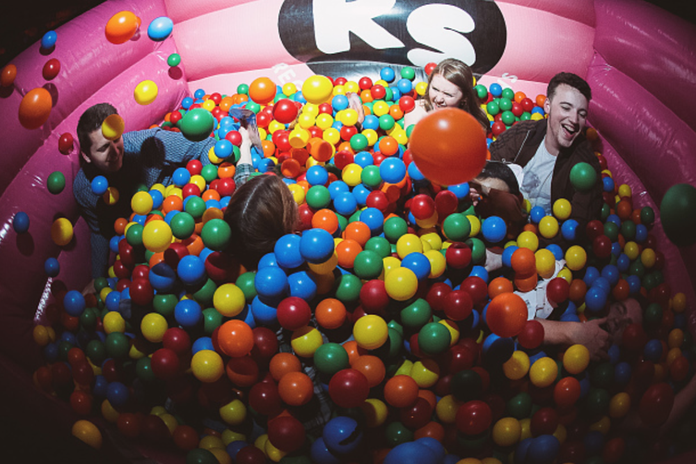 One of RS's classic ball pits