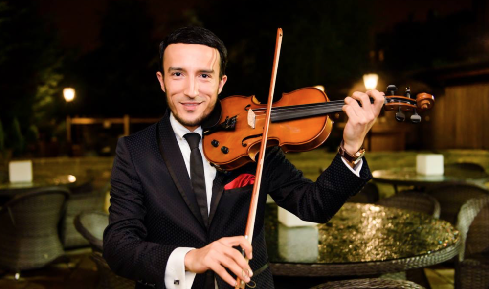Our in-house violinist can join in for that extra special touch