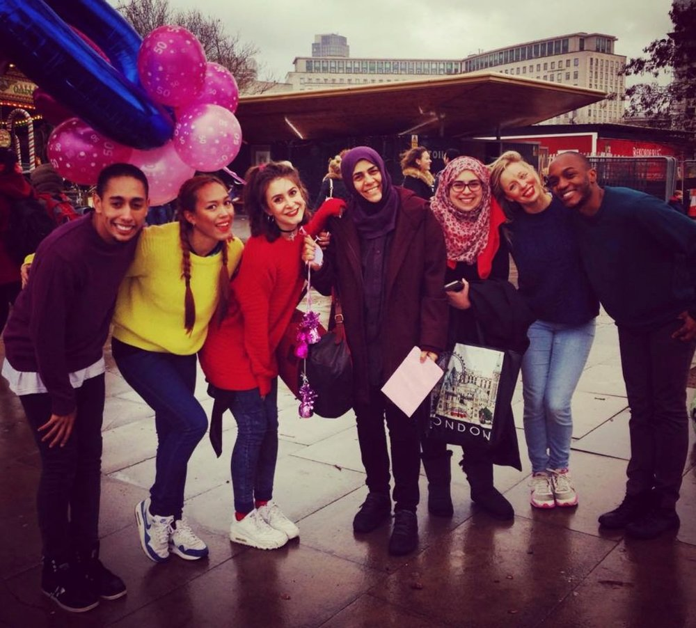 After a 50th birthday flash mob on London's Southbank!