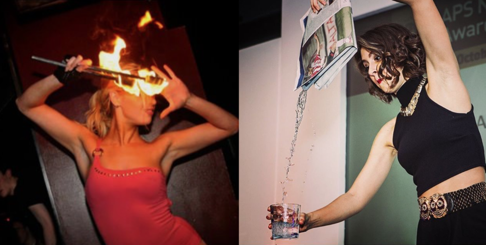 Ask us about our fire and magic performers for a full bar mitzvah entertainment package!