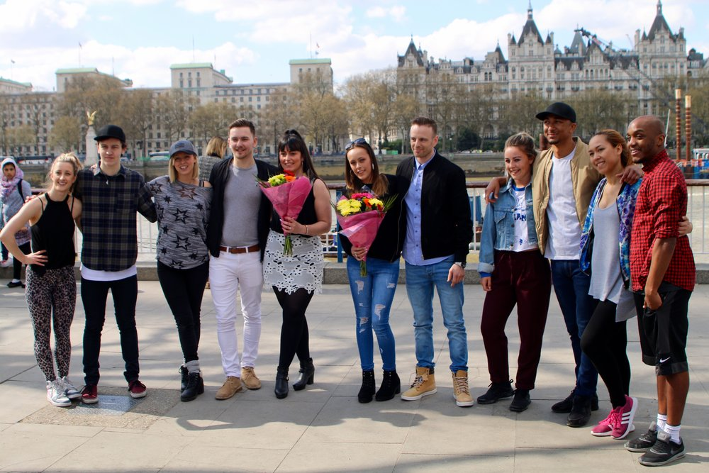 Our Double Flash Mob Proposal Flash Mob Dancers London