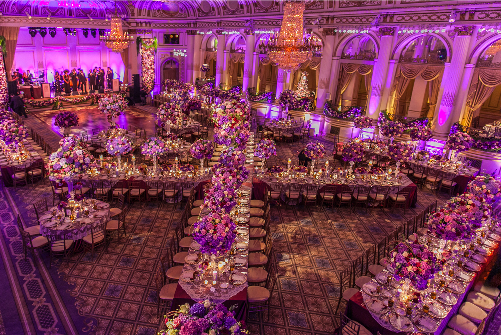 WEDDING AT THE PLAZA HOTEL - DESIGN BY DAVID TUTERA