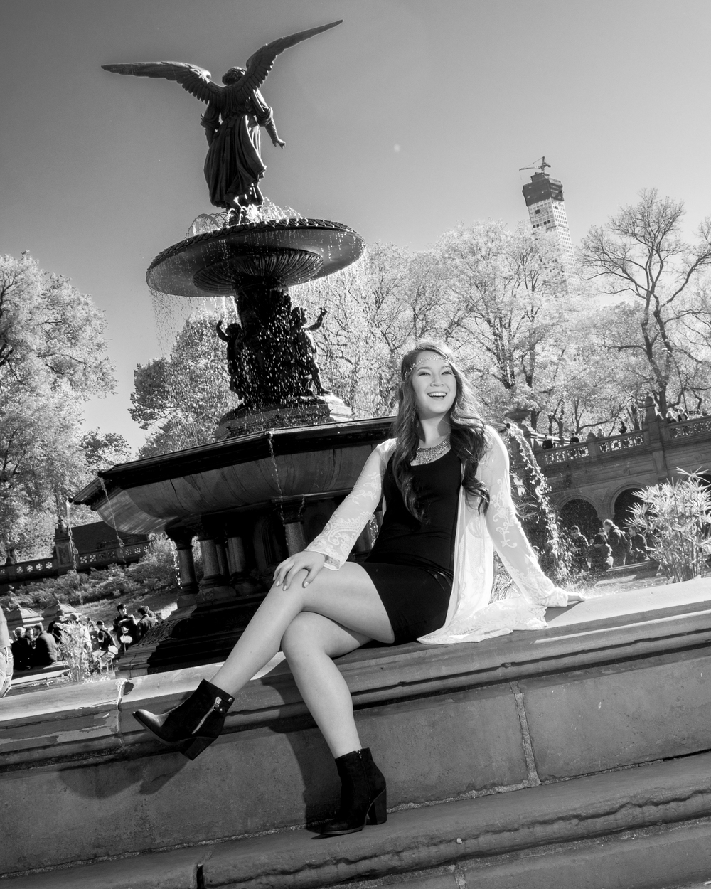 CENTRAL PARK SENIOR PORTRAITS