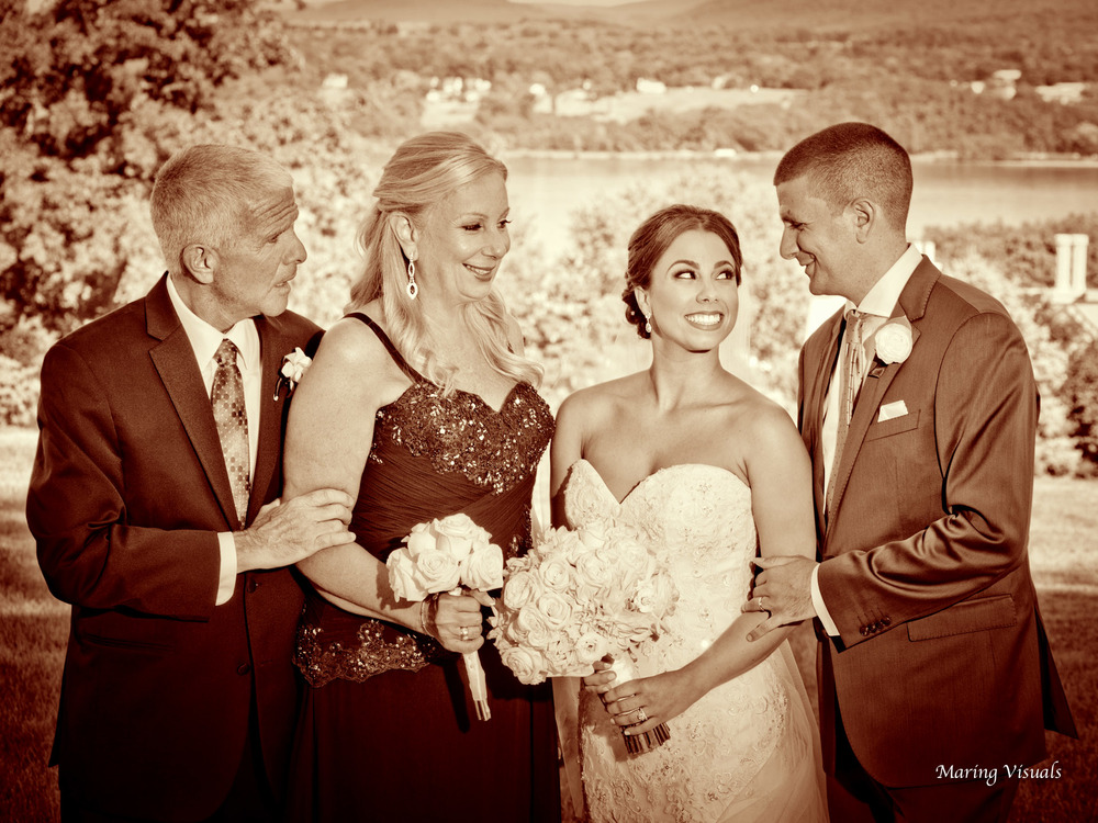 Wedding photography from Jamie and Kyle's wedding at The Grandview in Poughkeepsie NY