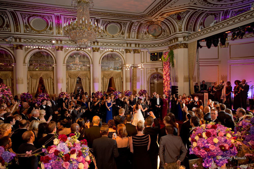 Wedding at the Plaza NYC Photography by Maring Visuals, Event Design by David Tutera