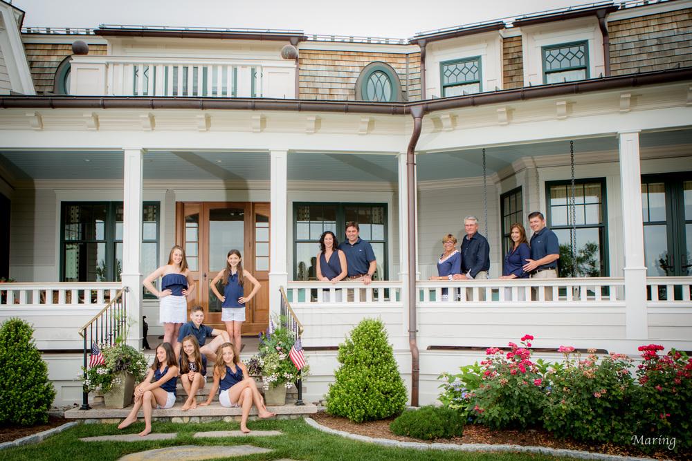 Family portrait photographer Connecticut