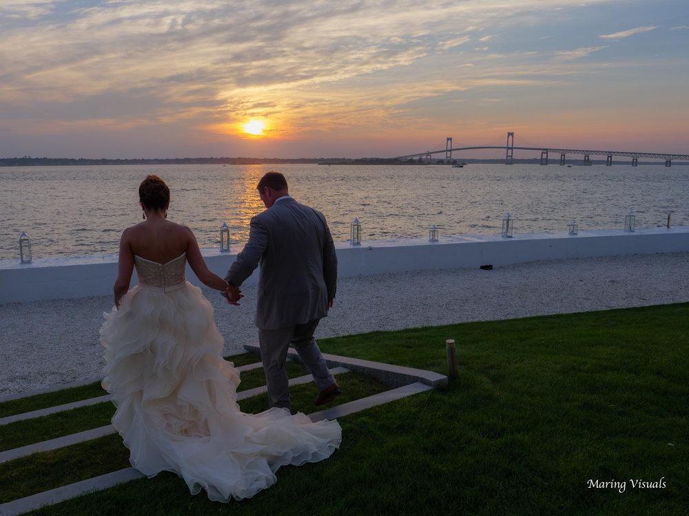 Belle Mer Wedding Sunset