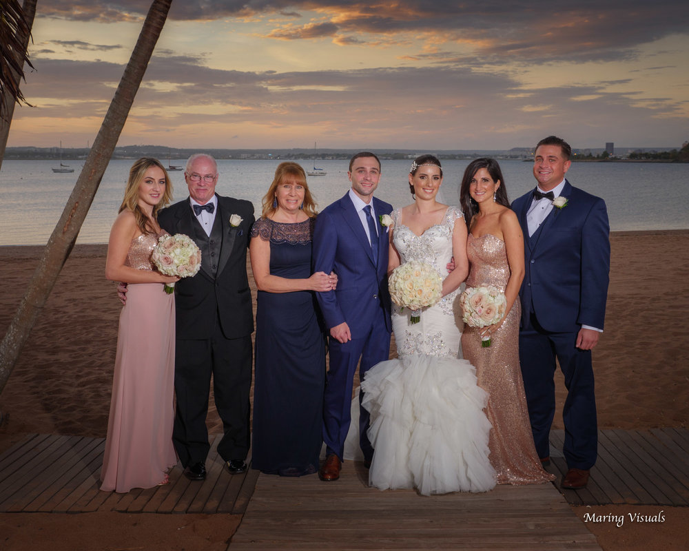 Anthony's Ocean View Wedding