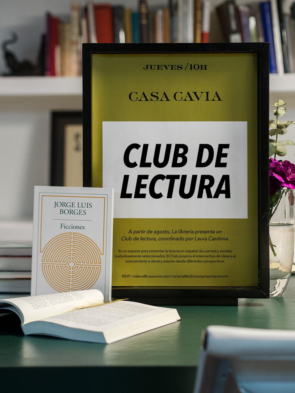 Club de lectura Casa Cavia