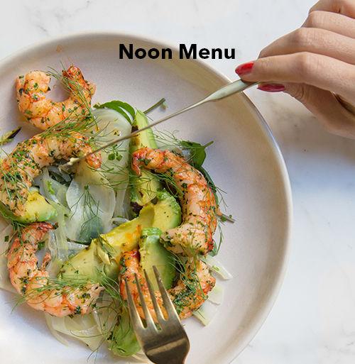 Noon menu