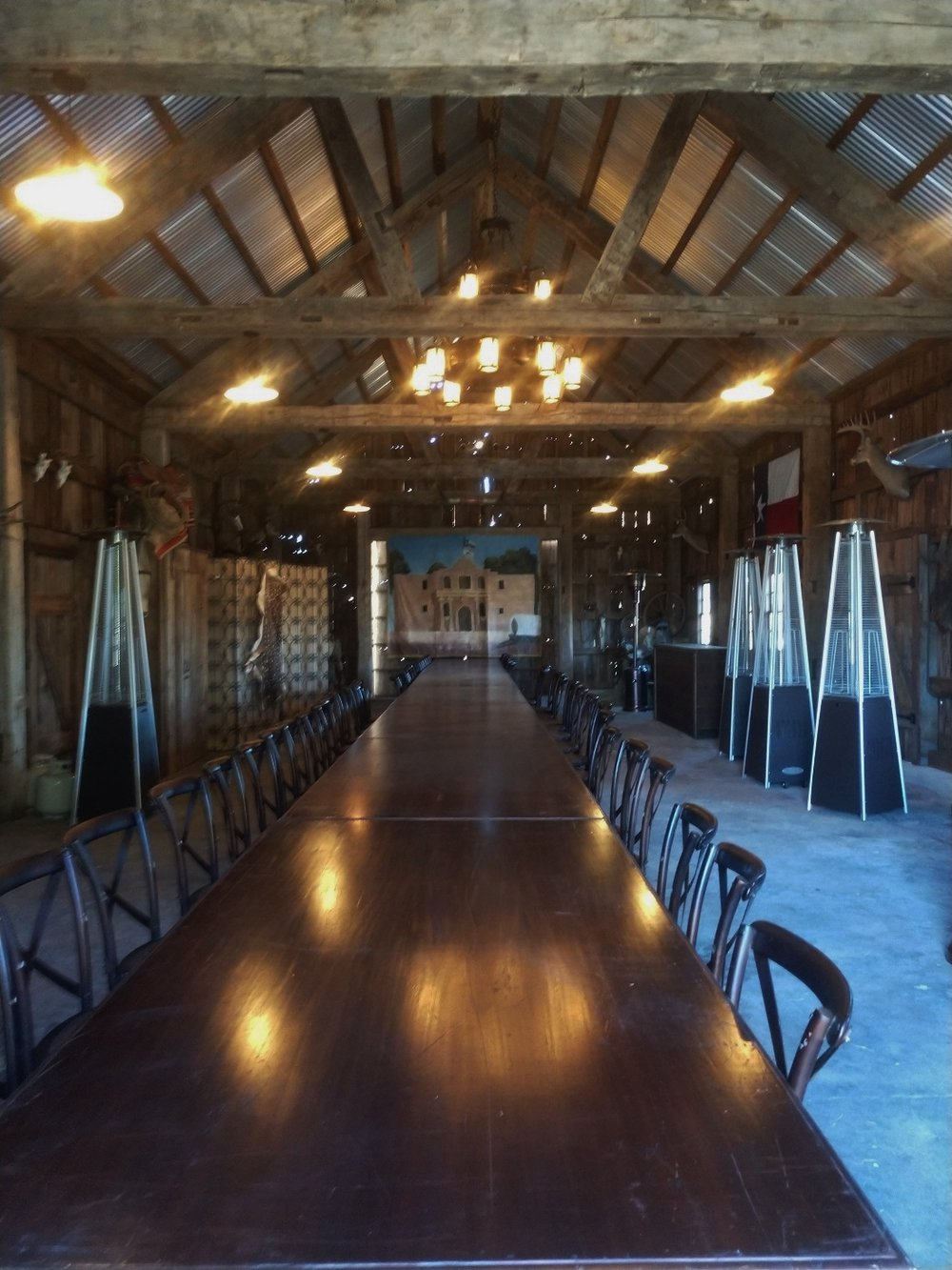 Barn Lighting Interior