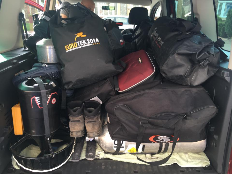 Packed Van: Equipment for two