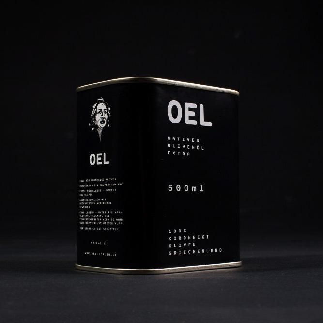 Das wohl coolste Olivenöl. Natürlich aus Berlin - what else.