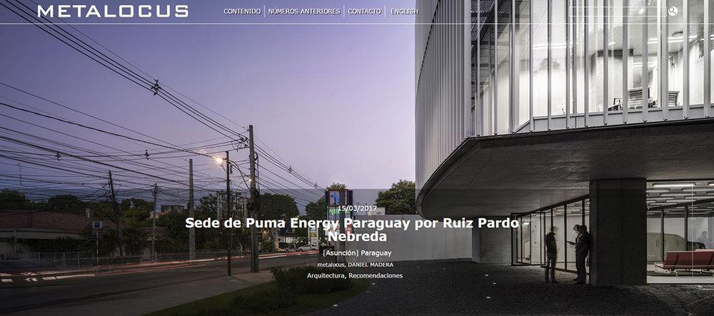 puma energy paraguay hq featured in metalocus