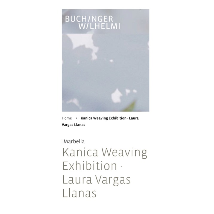 buchinger_wilhelmi_clinic_exhibition_kanicaweaving_lauravargasllanas.JPG