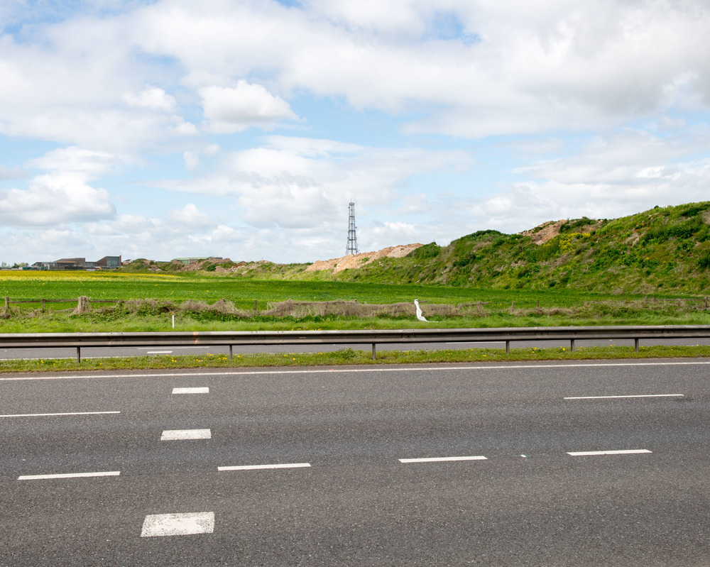 Runway 198 West Crossing A15, Elsham Wolds, Lincolnshire 2015