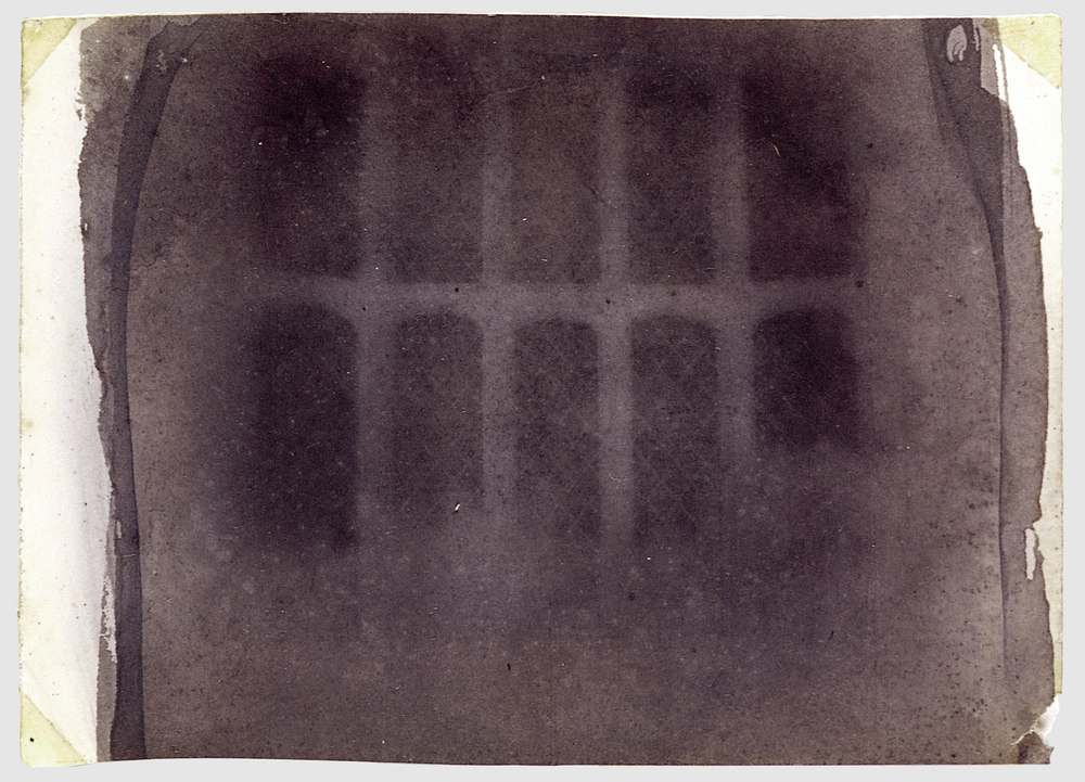 The Oriel Window, South Gallery, Lacock Abbey, William Henry Fox Talbot, 1835