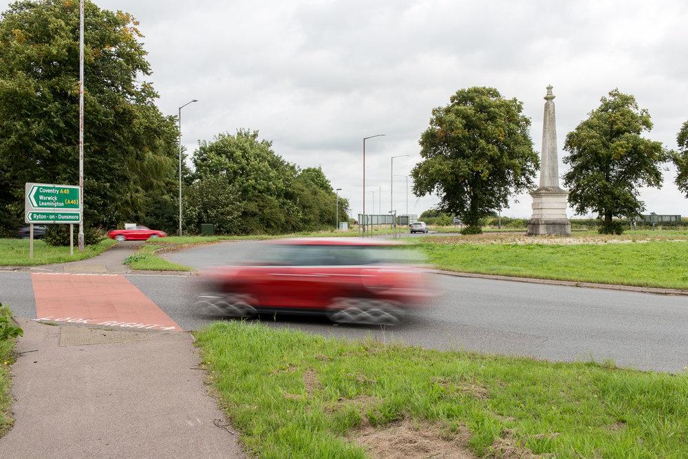 The Guns Memorial, Near Stretton on Dunsmore, Warwickshire - September 2016