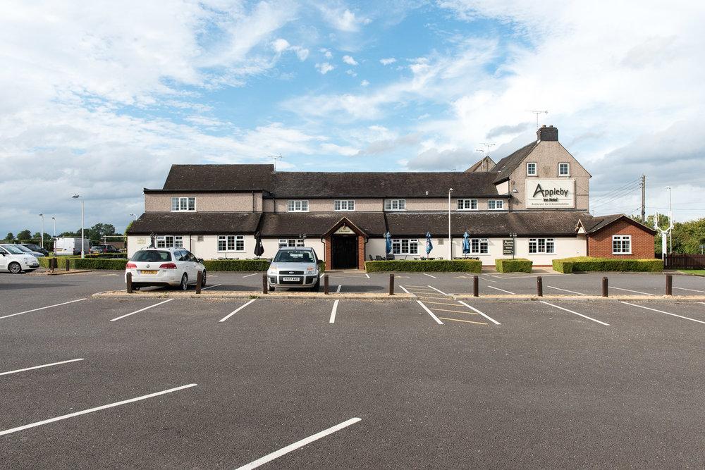 Appleby Inn Hotel, near Appleby Parva, Leicestershire - September 2016
