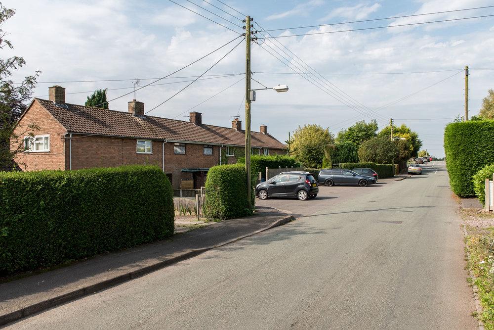 Dicky's Lane, Woodseaves, Staffordshire - September 2016