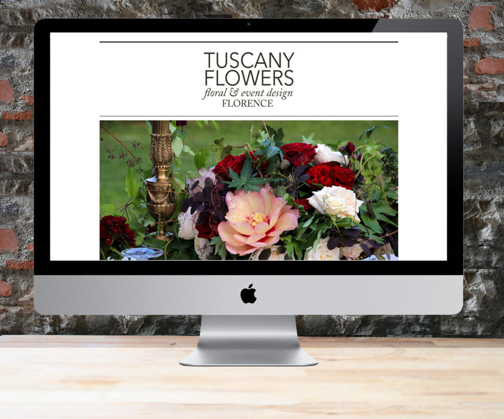 Tuscany Flowers Website
