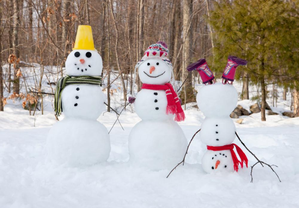 snowmen happy