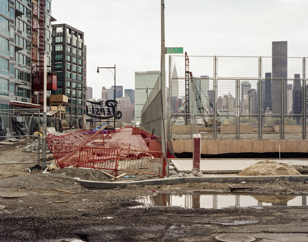 Condo Construction, Long Island City, New York, 2008