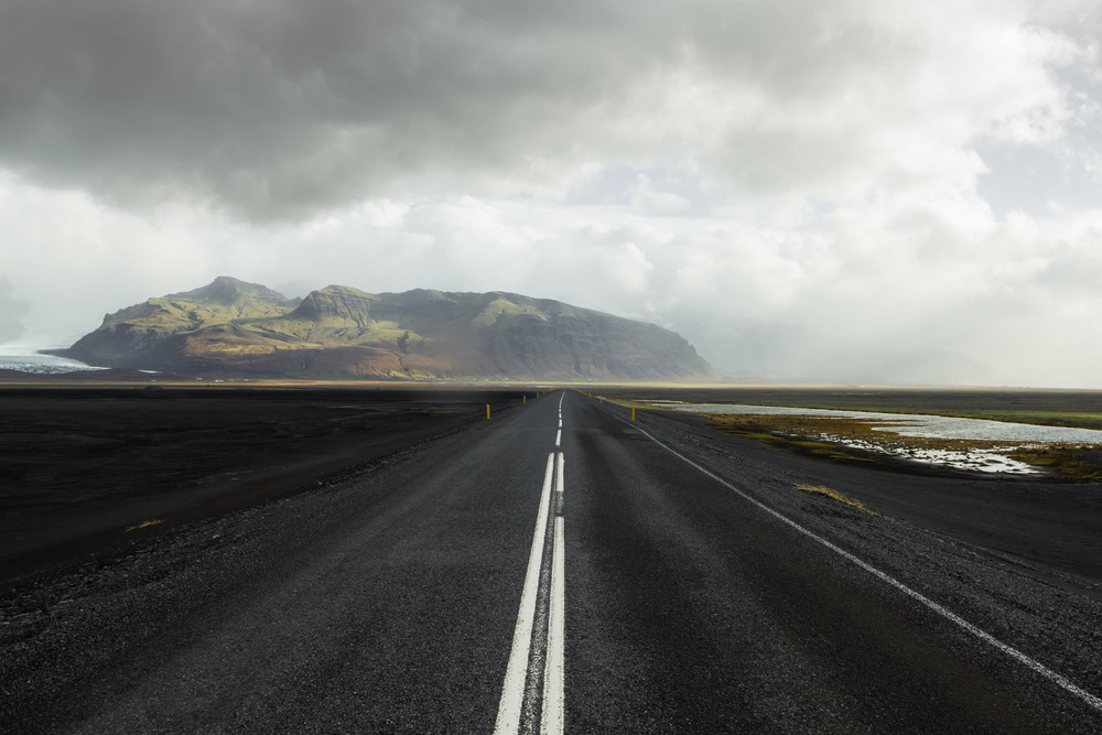 Road to Skaftafell, 2010
