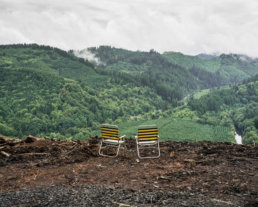 Jay's Chairs on Digger Mountain, Oregon, 2013