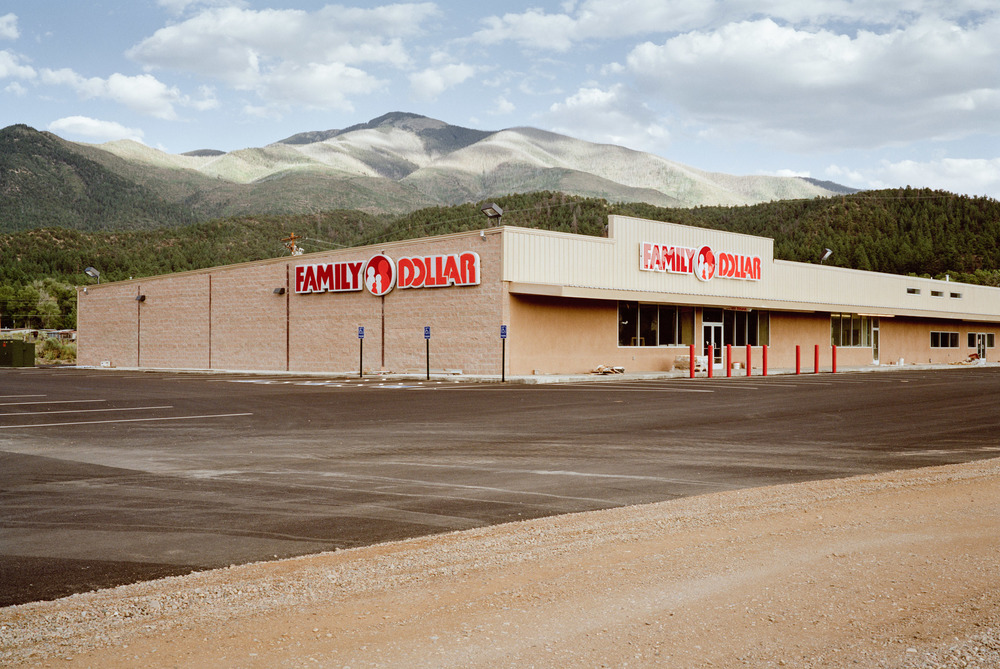 Family Dollar, Taos, New Mexico, 2009