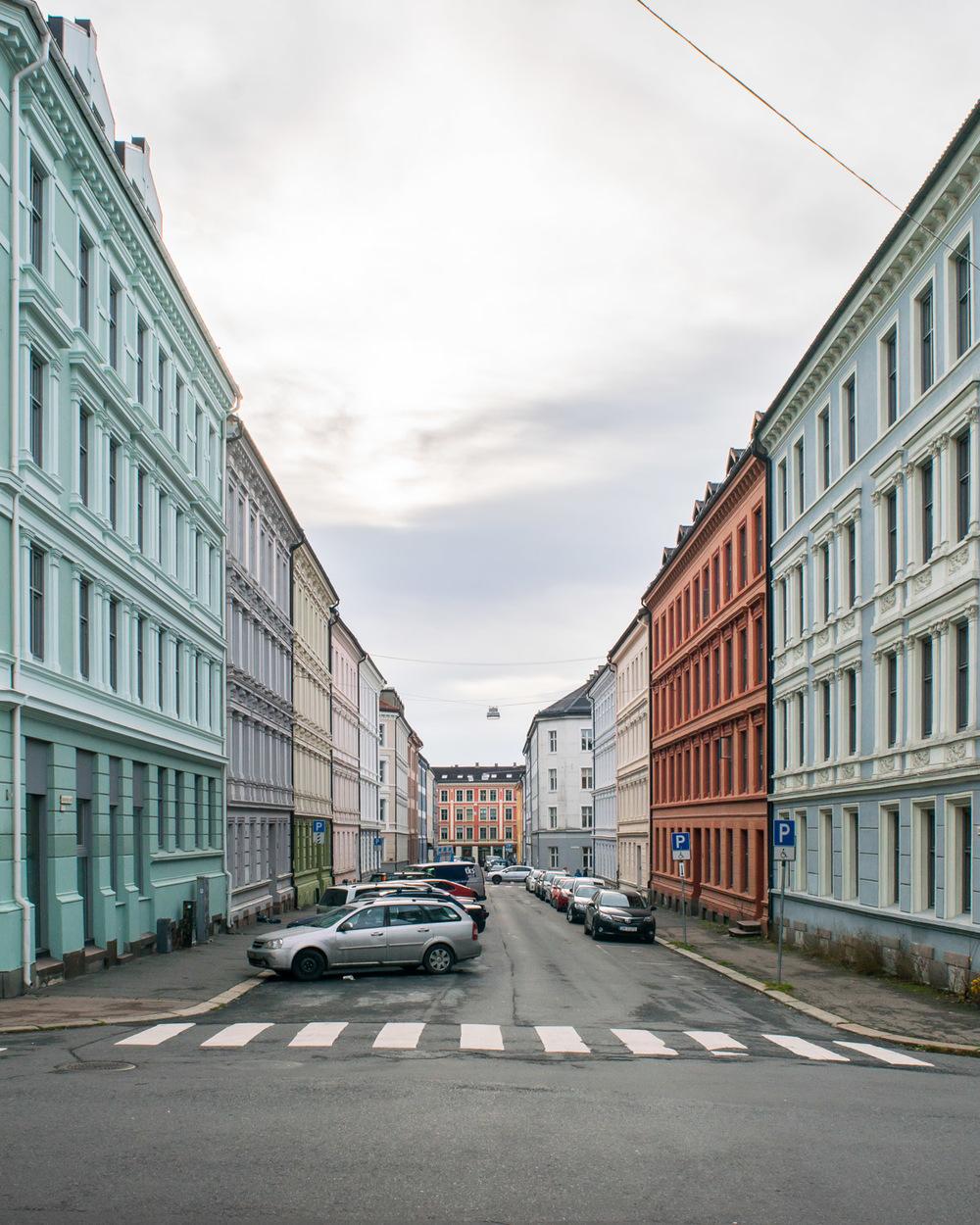 Street Scene, Oslo, Norway, 2015