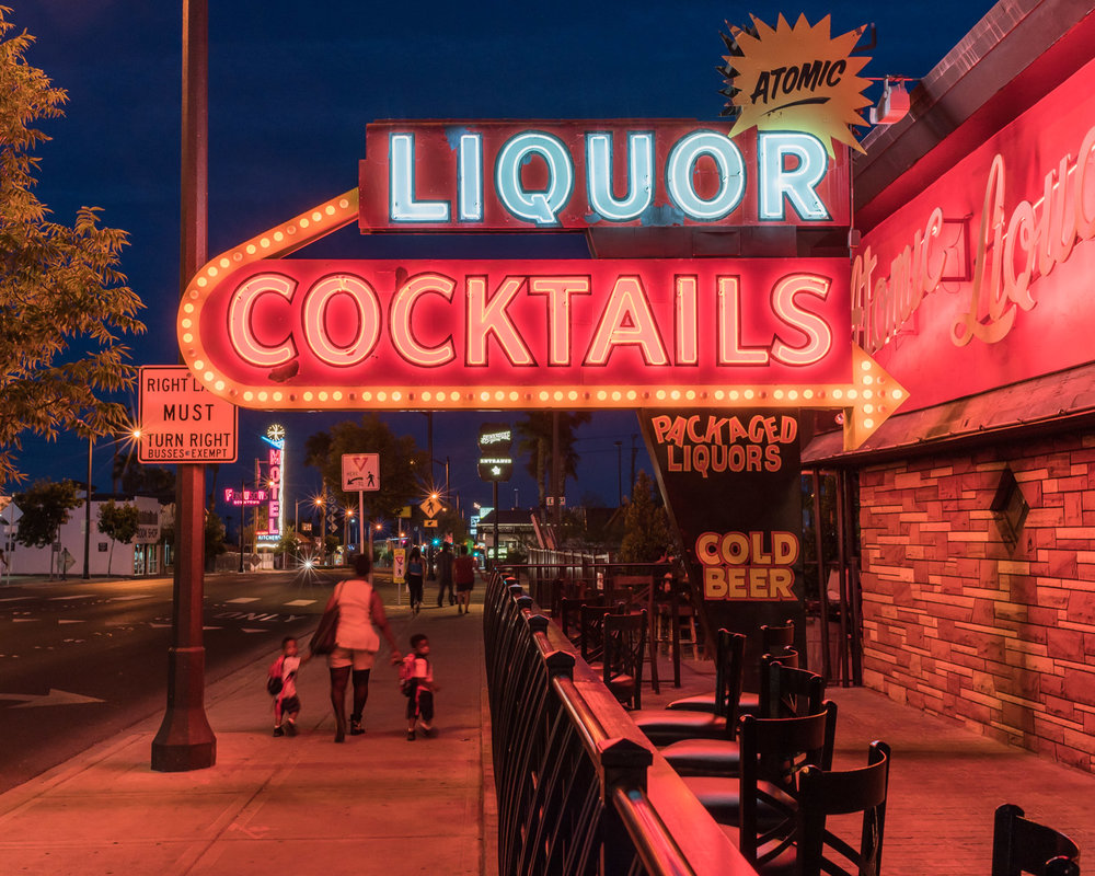 Atomic Liqours,Las Vegas, Nevada, 2016