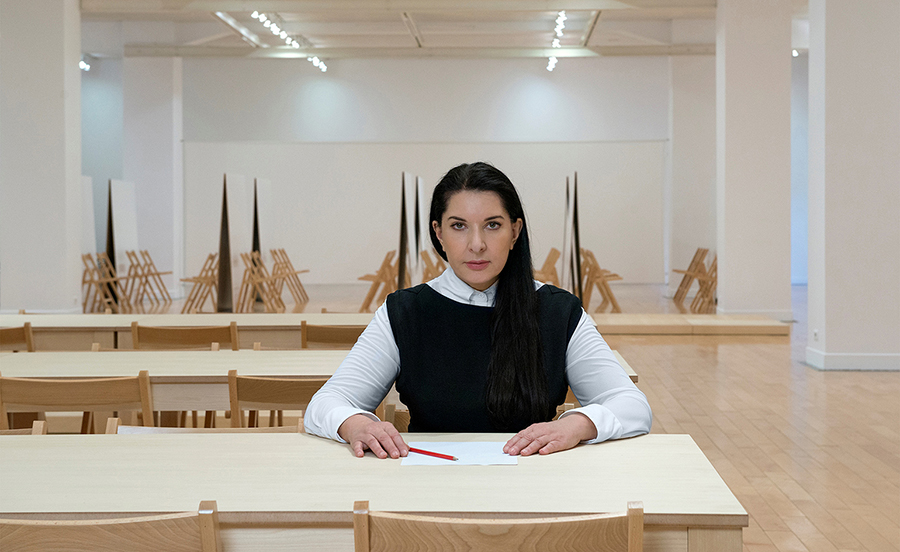 ABRAMOVIC IN THE METHOD SPACE FOR 'AS ONE'