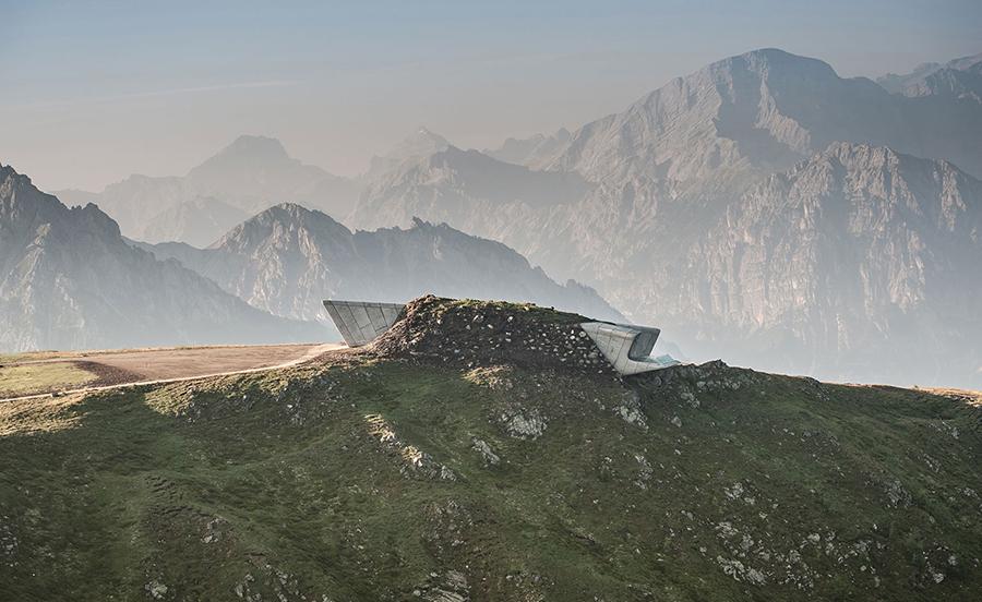 MESSNER MOUNTAIN MUSEUM - MT KRONPLATZ, ITALY (2015)