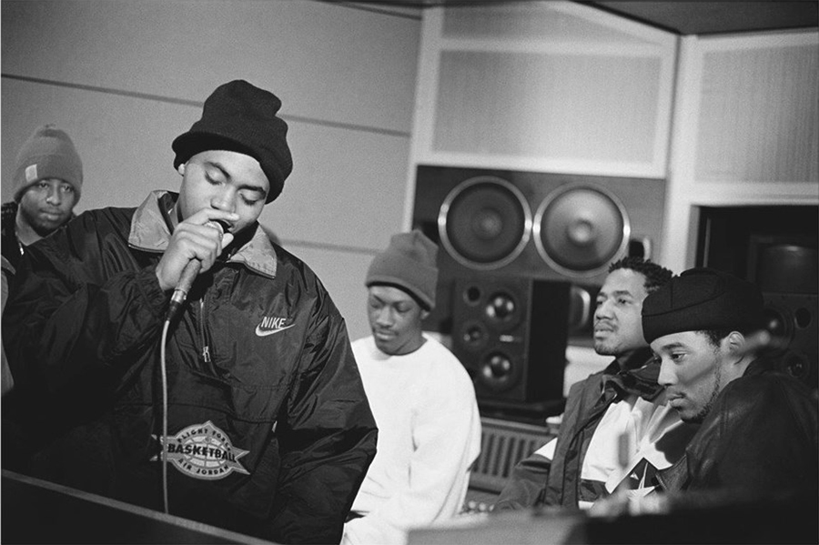 NAS AND Q-TIP DURING ILLMATIC