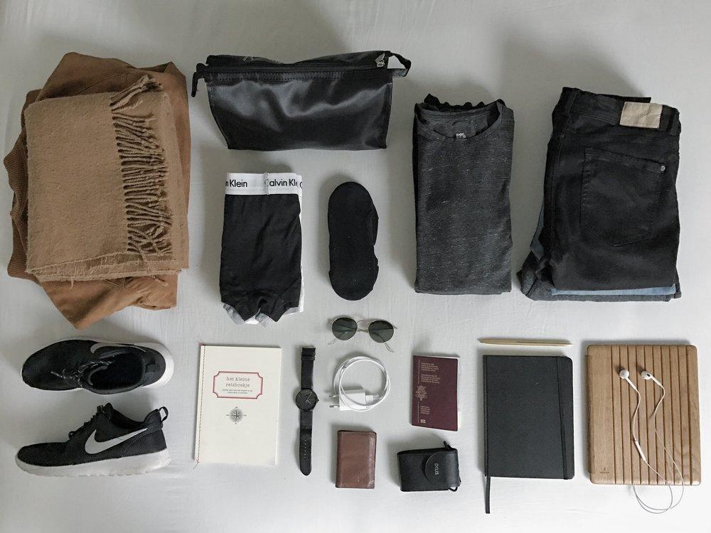 Travel essentials.