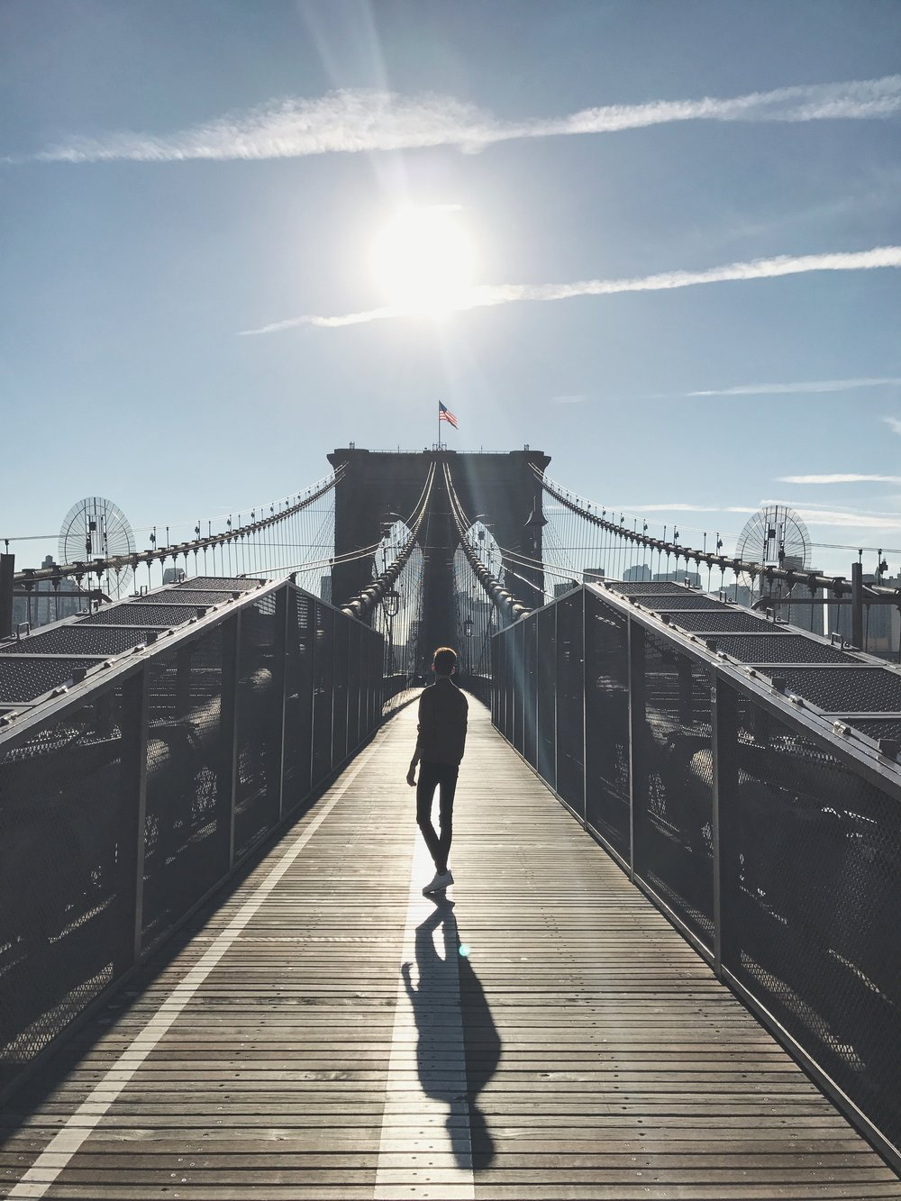 Goodmorning Brooklynn Bridge.