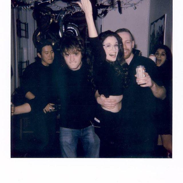 📸: @eddiedonga . Polaroid from Noel's b day party last Friday