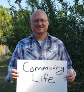 Charlie Hughes, Community Life Pastor