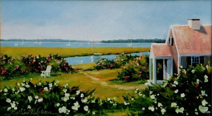 Cottage View by Bettina Lesieur