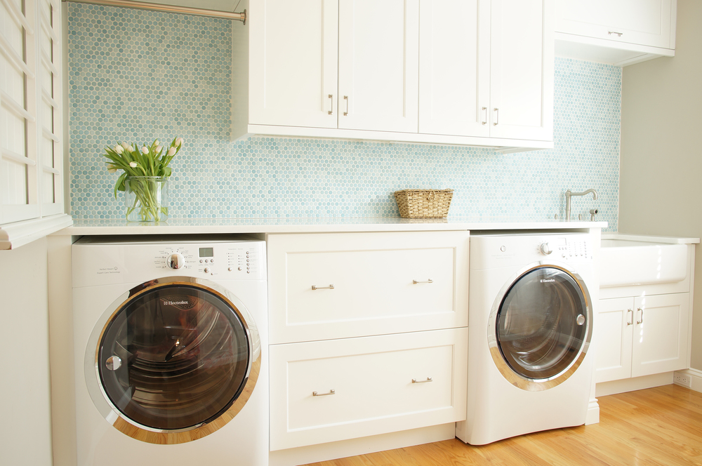 Angela Raciti Interior Design Laundry Room