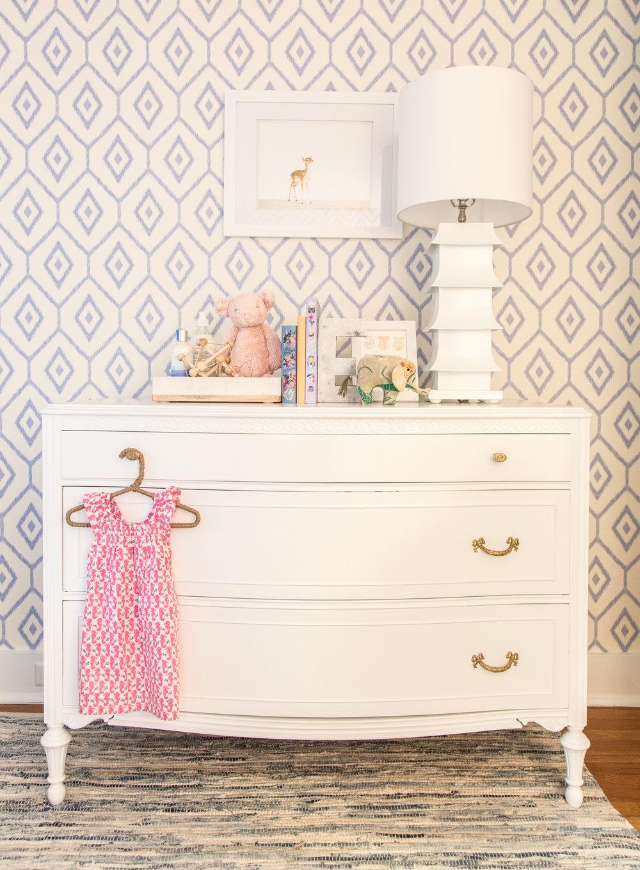 modern nursery dresser