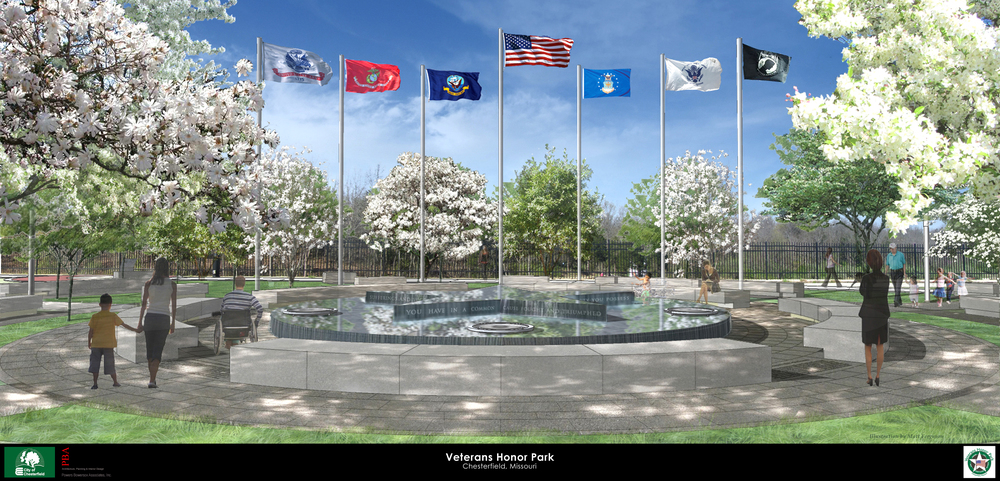 Veterans Honor Park , Chesterfield, Missouri (2014)